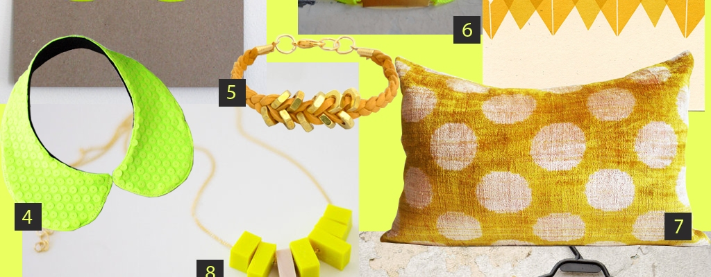 COLOR STORY   Neon Yellow & Mustard