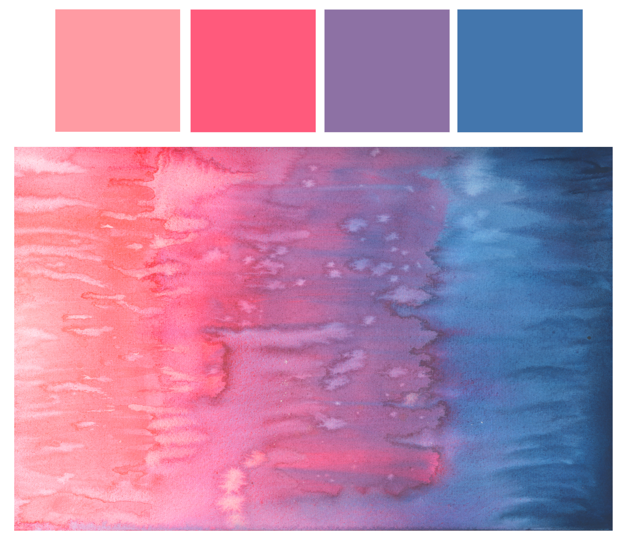 Watercolor Color Color Story | Watercolor