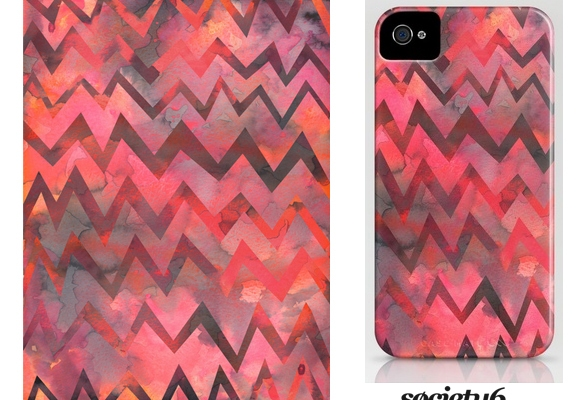 MY WORK | Zigzag iphone case