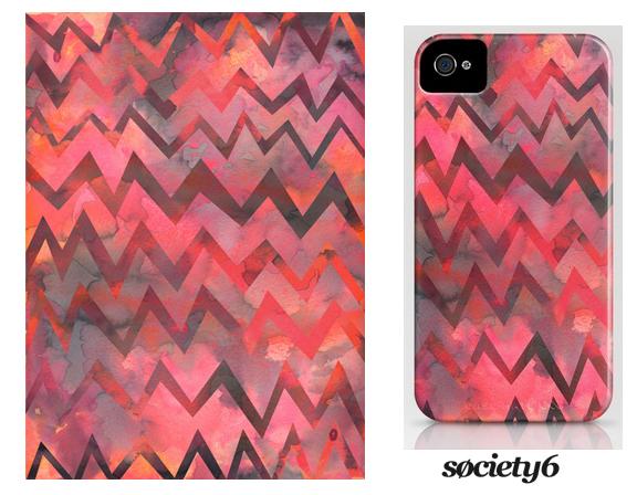 MY WORK | Zigzag iphone case