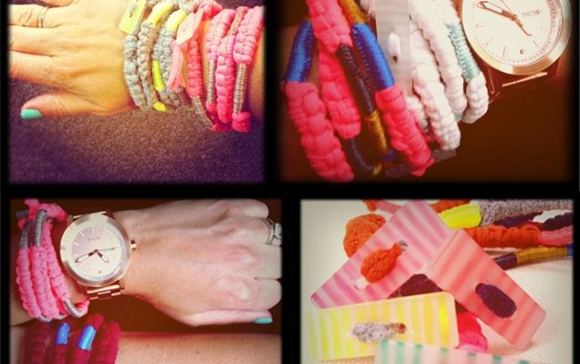 MY WORK | Wrap bracelets from ETSY