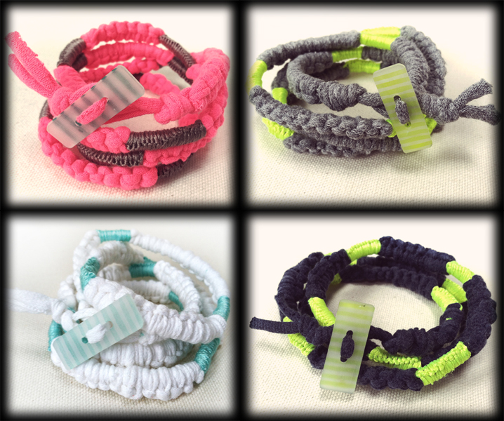 MY  WORK |  wrap bracelets from ETSY