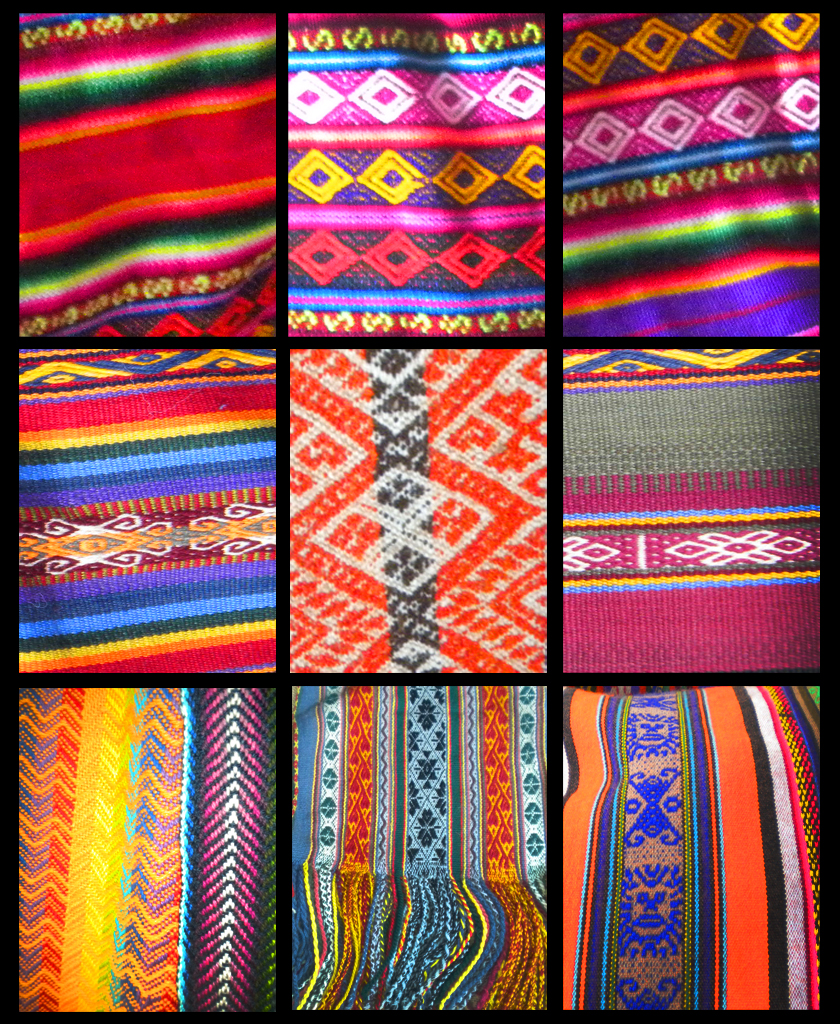 Peruvian textiles schatzi brown for The fabric of