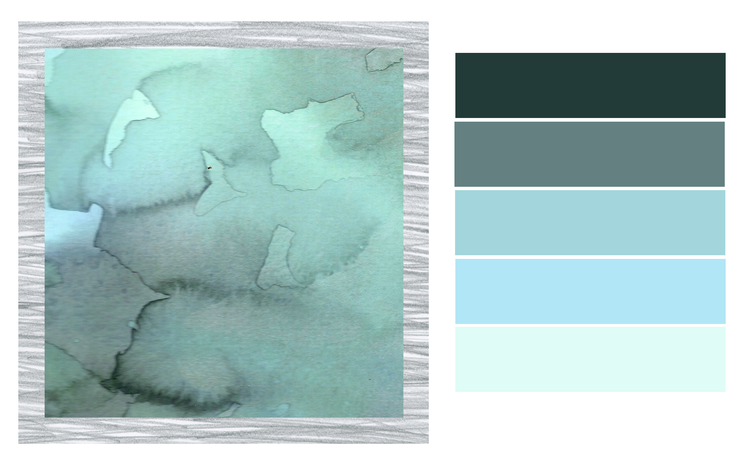 Color palette schatzi brown for Colors that go with ocean blue