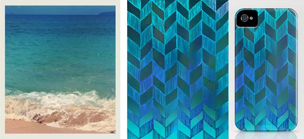 INSPIRATION | Ocean Ombre Blue
