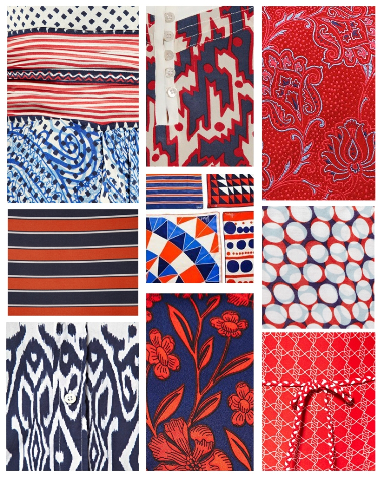 PATTERN STORY | Red White Blue
