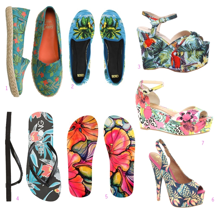 PATTERN STORY | Tropical Shoes
