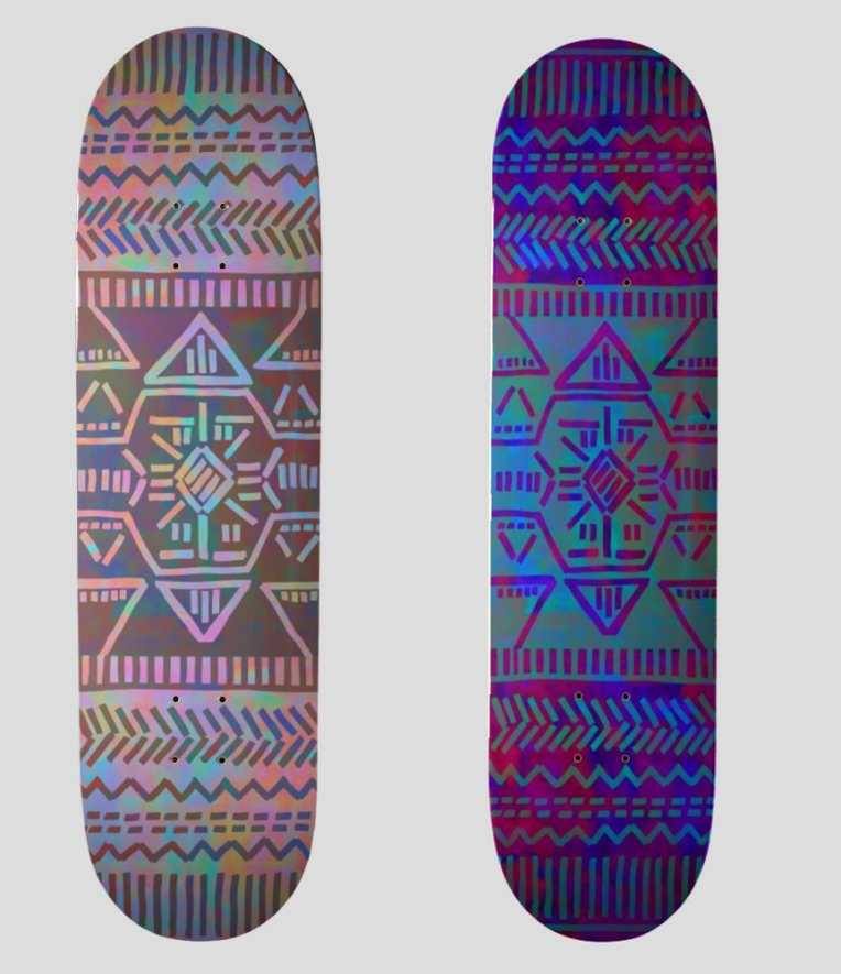 MY WORK | Skateboard Decks