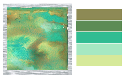 Watercolor Color Combinations Color Story | Watercolor