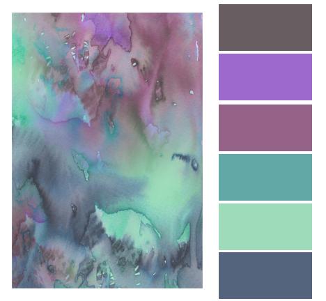 COLOR STORY | Watercolor Palette
