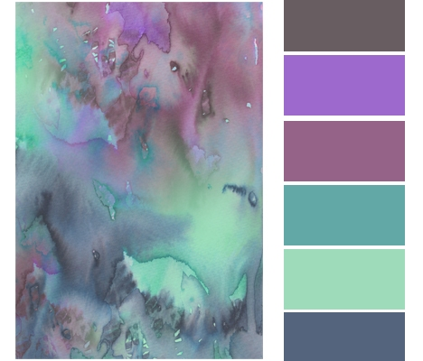 COLOR STORY | Watercolor Palette