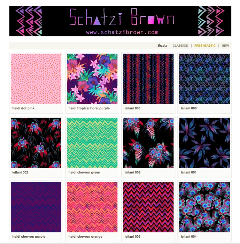 MY WORK | Spoonflower Shop
