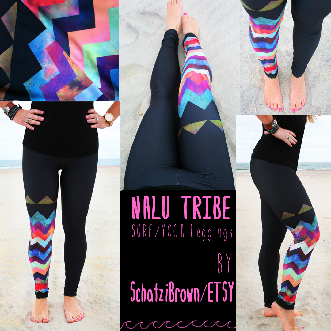 Montauk Chevron Surf Legging