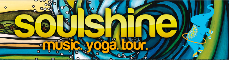 Soulshine Music Yoga Tour Header